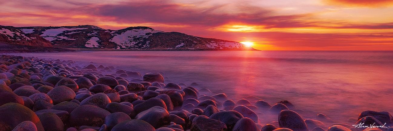 Teriberka, Dragon Balls Beach, Barents Sea, Alexander Vershinin, photo