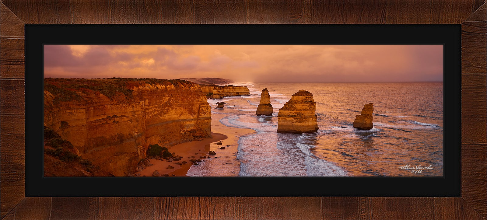 Landscape Photo Print Acrylled And Framed