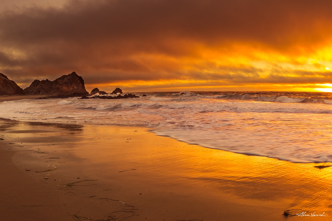 California panoramic photo, Large Format Prints, Nature Landscape Photography, Limited Edition