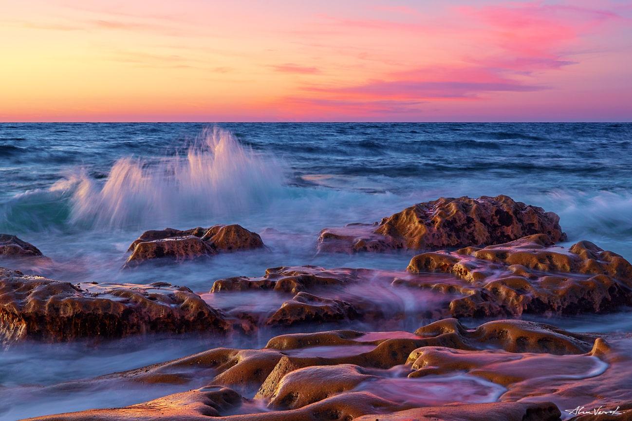Californian seascape, Large Format Prints, Panoramic Prints, Nature Landscape Photography, Fine Art, Limited Edition