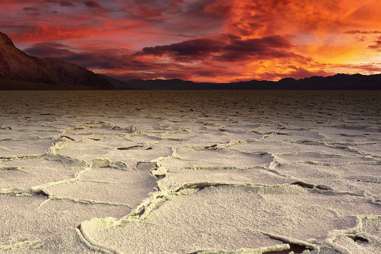 Badwaters Luxury Fine Art, Large Format Prints, Nature Landscape Photography, Limited Edition, Death Valley photo