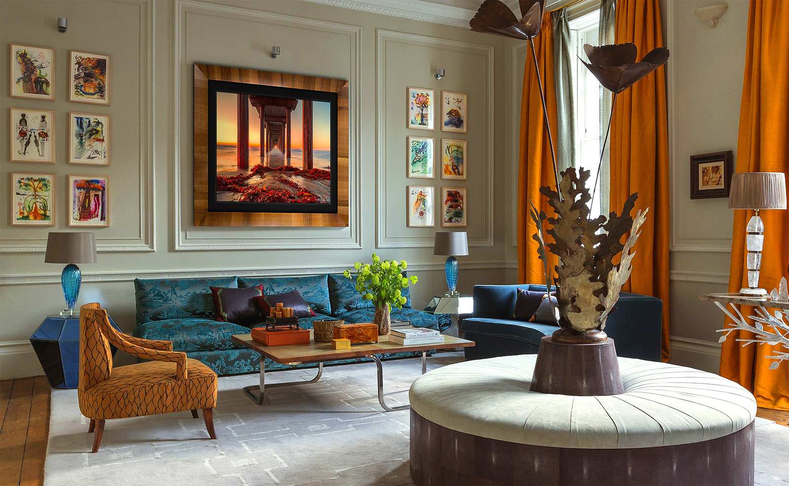 Alexander Vershinin, Luxury, Fine Art, Framed Art