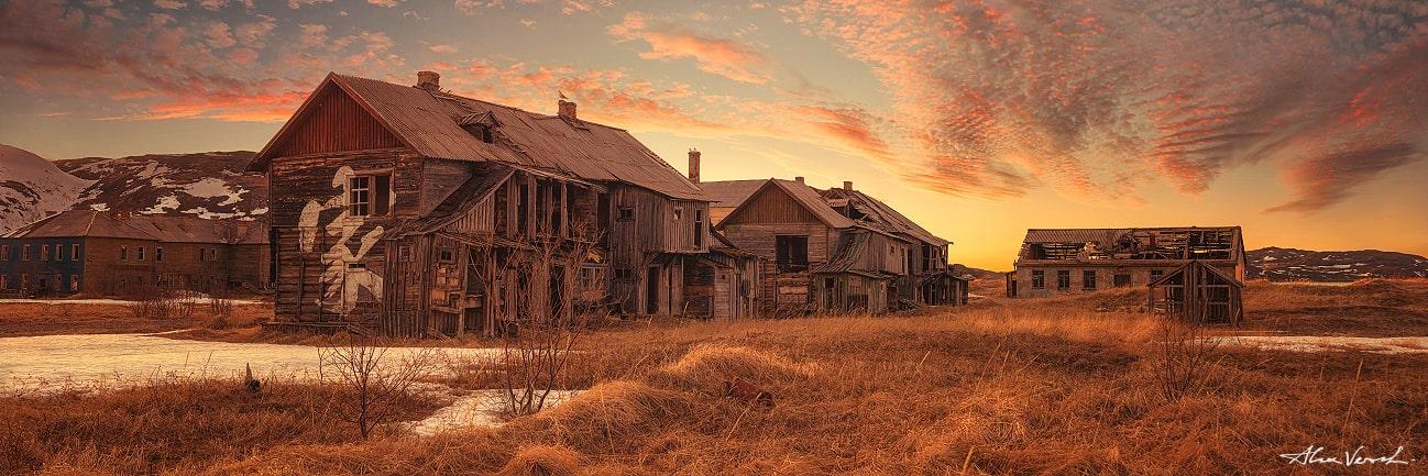 ghost town, Teriberka, Kola, Alexander Vershinin, photo