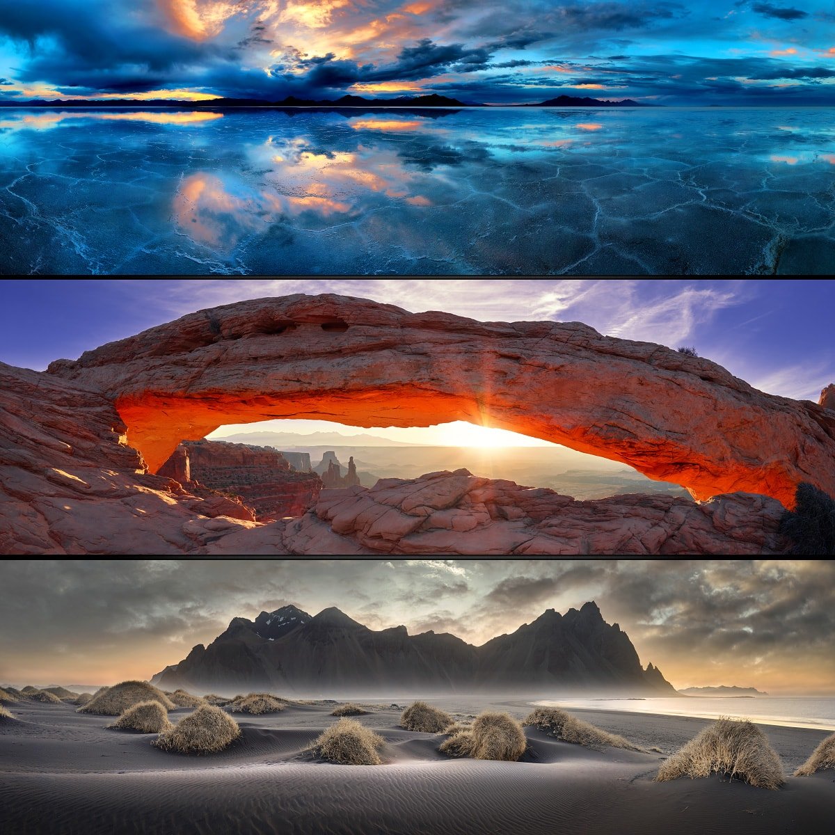 Large Format Photo Prints, Panoramic Photos, Nature Landscape Photography, Horizontal Photos