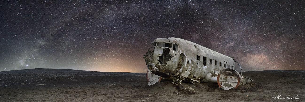 Iceland photography, plane wrecks, Alexander Vershinin, photo