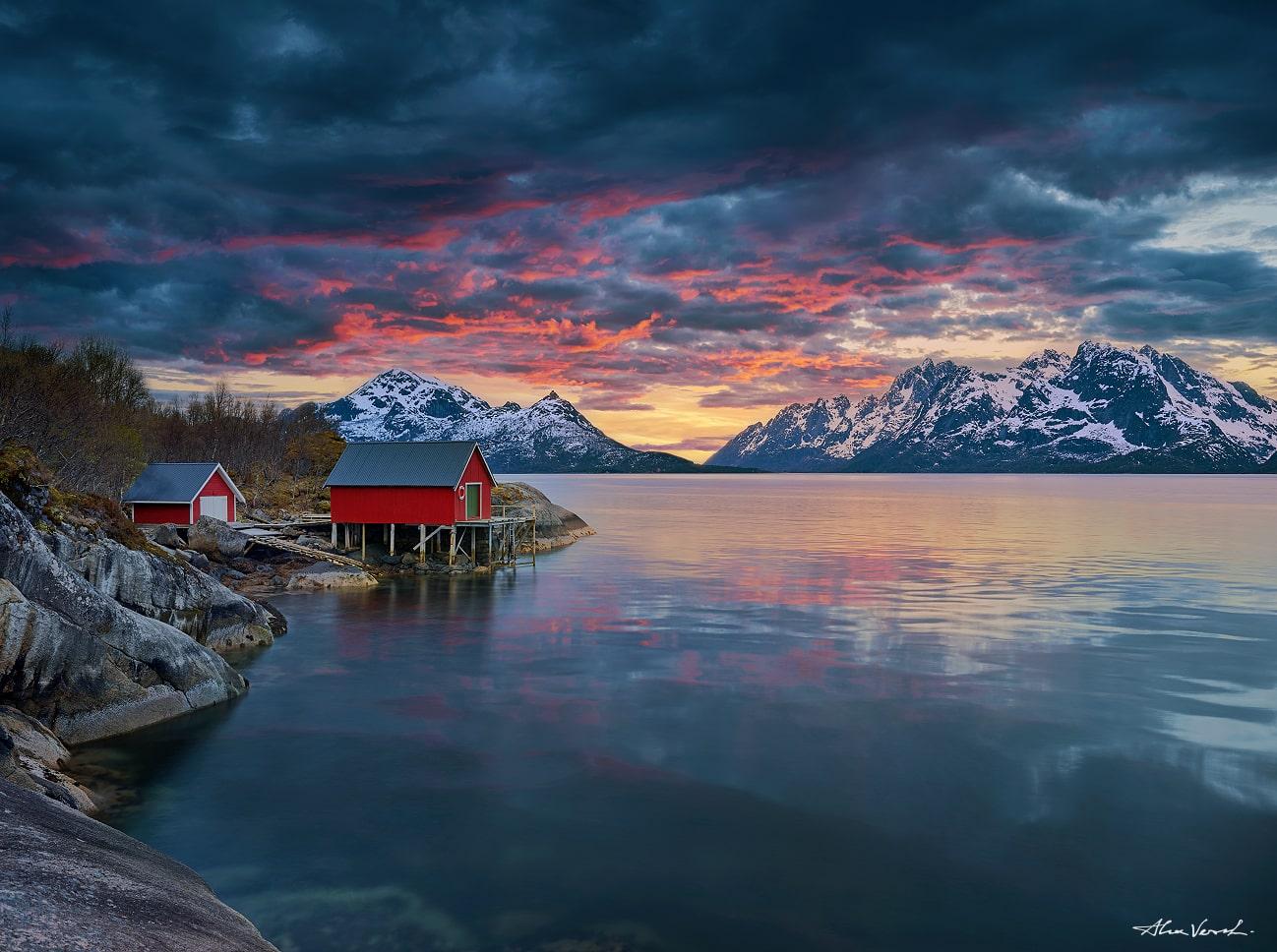Lofoten Islands, shelter, Alexander Vershinin, Norwegian photo