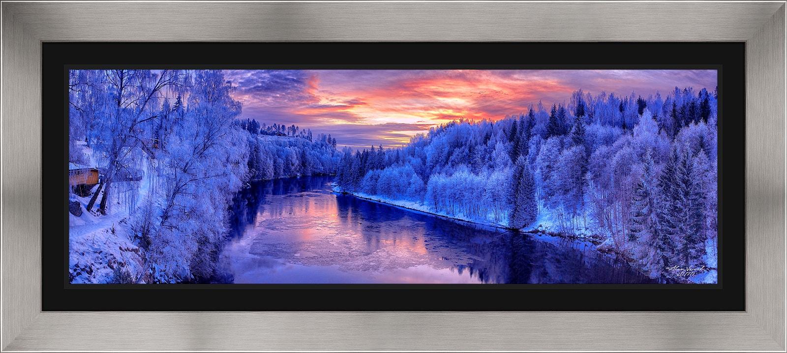 Fine Art Landscape Custom Framing