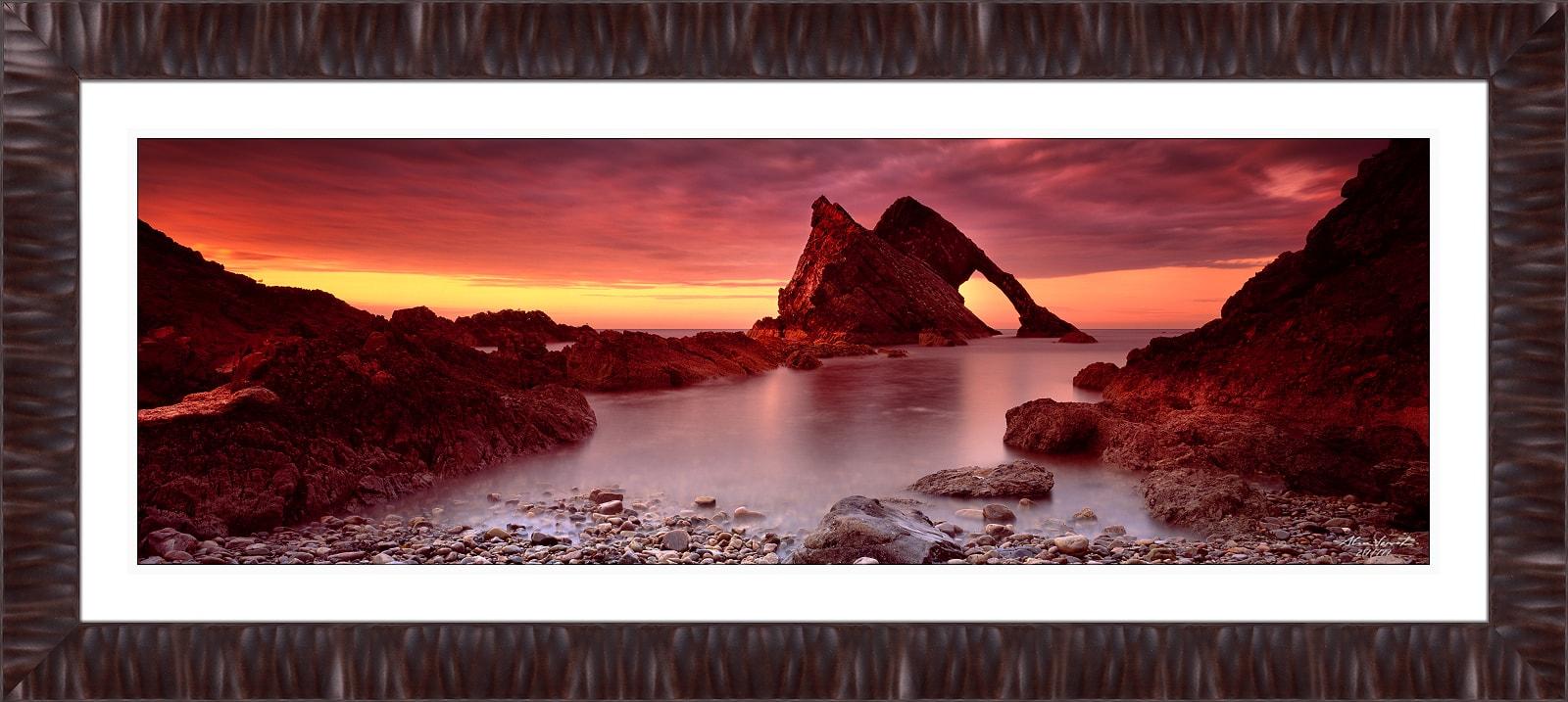 Landscape Photo Print Acrylled And Framed