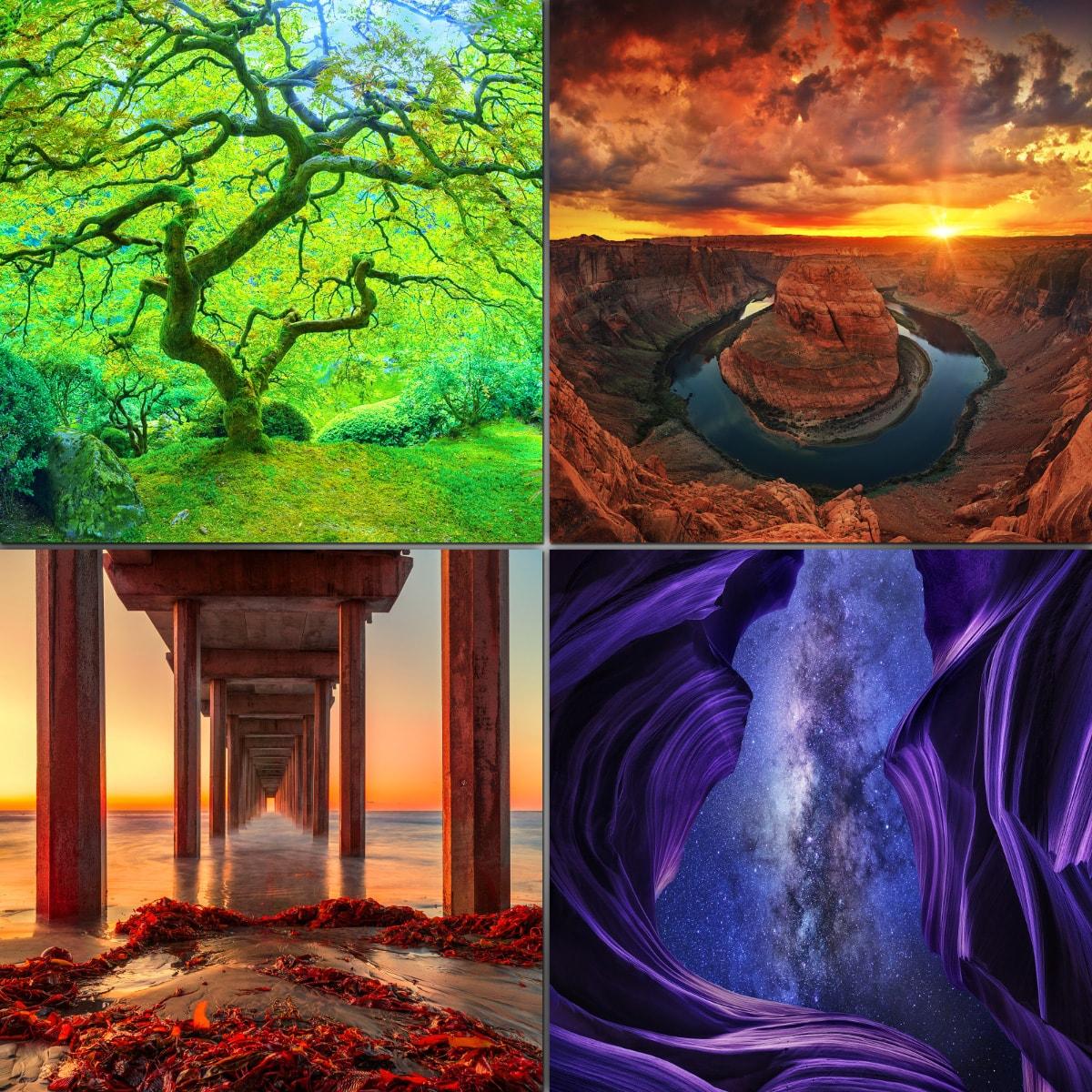 Standart size photo prints, Large Format photo, Nature Landscape Photography