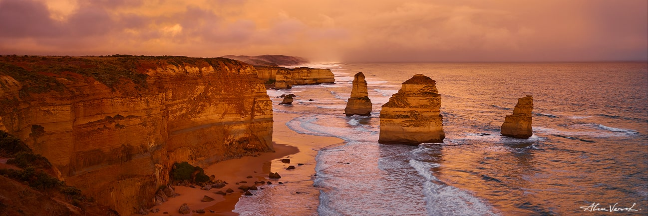 Australian nature photography, Twelve Apostles, Alexander Vershinin, luxury photo
