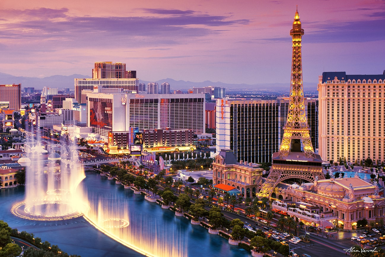 Las Vegas picture, Luxury Fine Art, Panoramic Photos, Nature Landscape Photography, Limited Edition