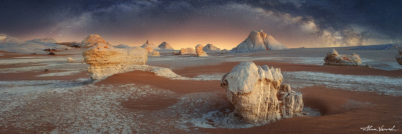 White Desert, Sahara, Egyptian Art, Egypt, Alexander Vershinin, photo