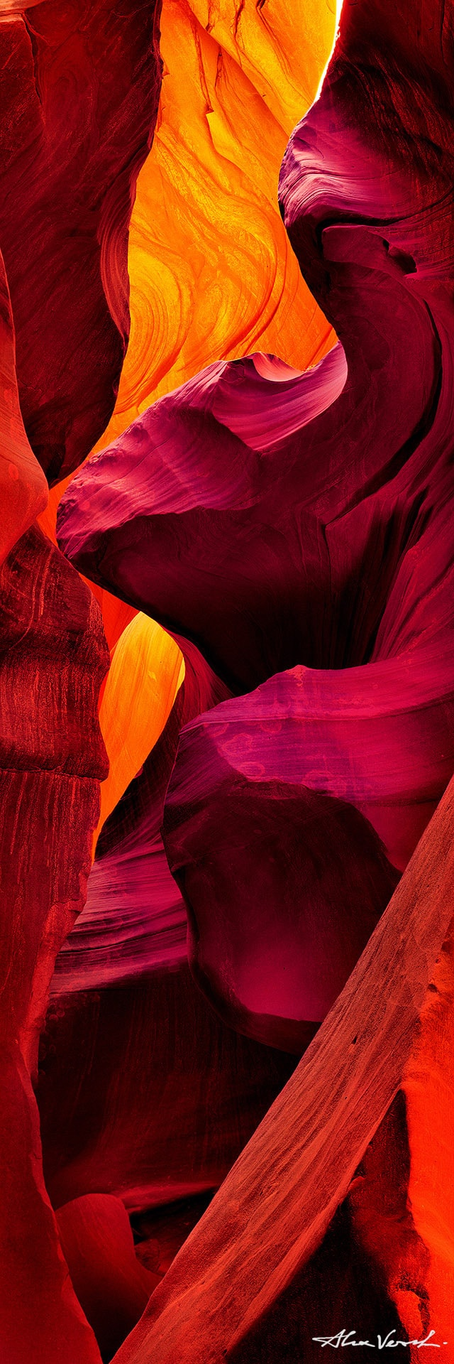 Alexander Vershinin, Arizona Landscape photos, Page, Antelope canyon, abstract, Limited edition prints, Fine Art, The Touch, photo