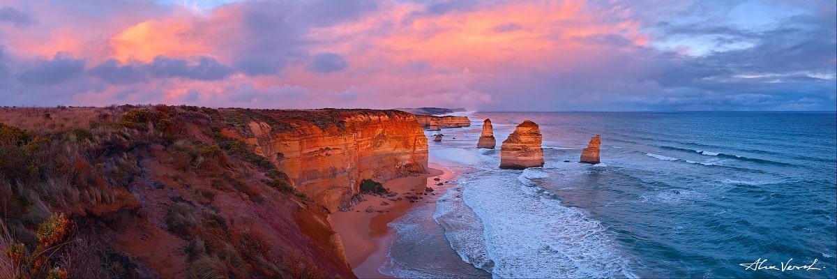 Australian Landscape Photography, Blood And Iron, Alexander Vershinin, twelve apostles, 12 apostles, australian landmark, photo