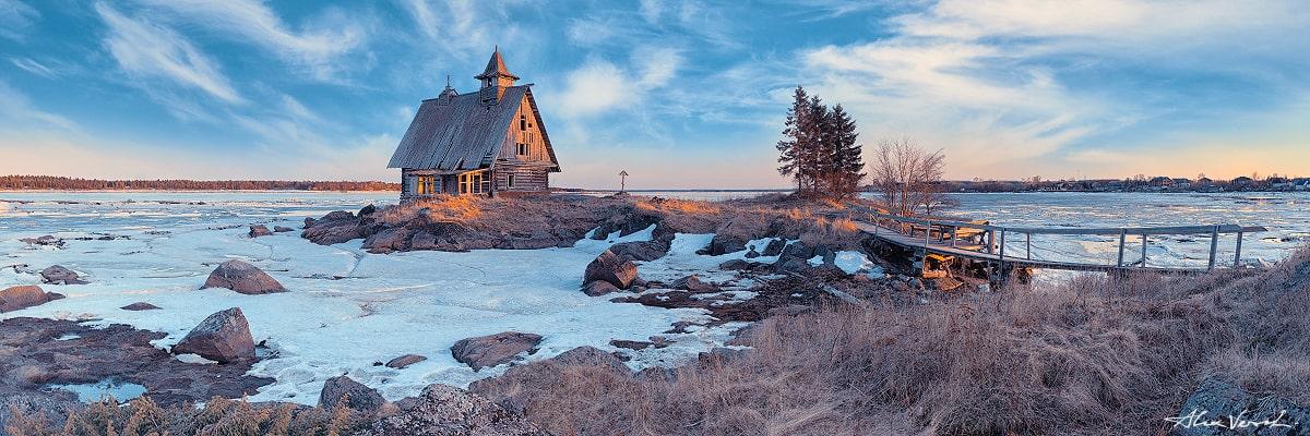 Limited edtion, Fine Art, Russian North, Karelia, Karelian Isthmus, Feel The Frost, Alexander Vershinin, abondoned house photo