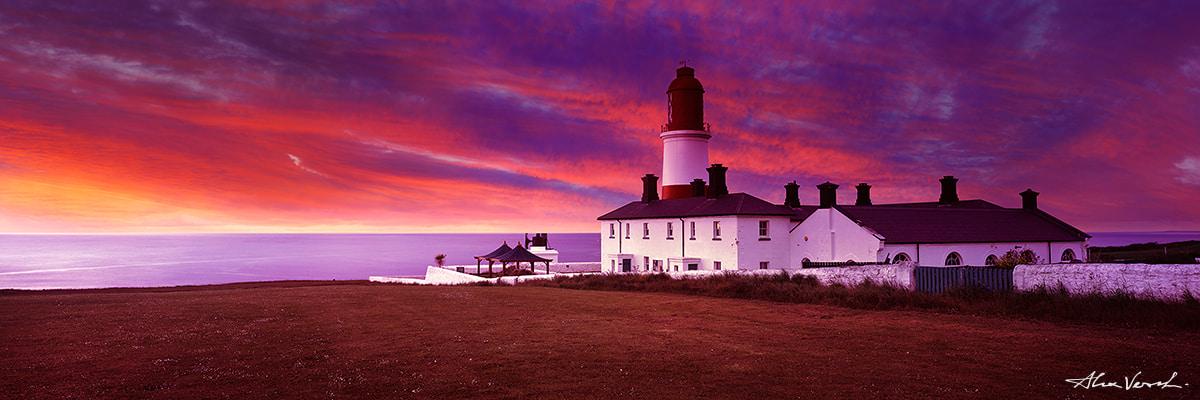 Limited edtion, Fine Art, Incarnadine, Alexander Vershinin, lighthouse photo, Scotland Photography