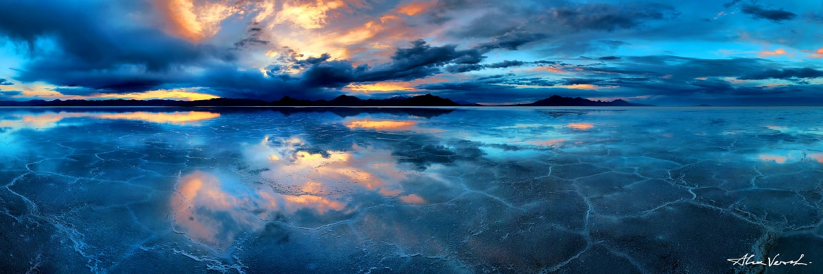 Limited edtion, Fine Art, Utah Photography, Infinity, Alexander Vershinin, best seller print, Salt Lake, salt flats, Bonneville, photo