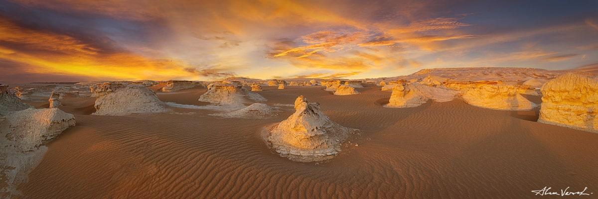 Sahara Landscape Photography, Into The Wind, Alexander Vershinin, Sahar desert, White Desert Egypt photo
