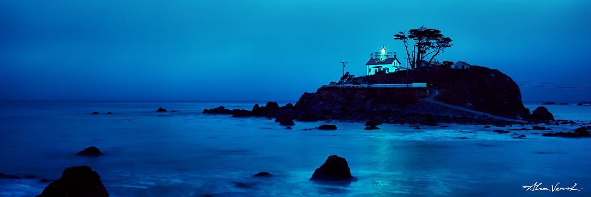 Limited edtion, Fine Art, Isolation, Alexander Vershinin, peter lik lighthouse, peter lik style, California Photography, photo