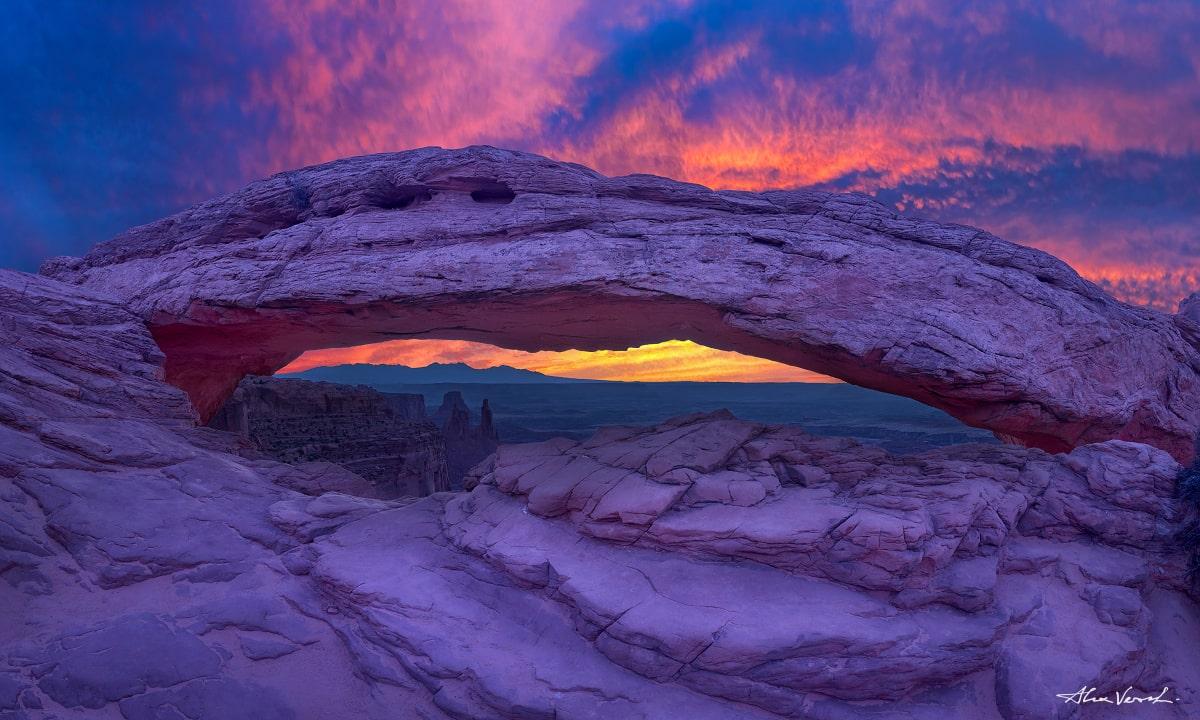 Mesa Arch, Canyonlands National Park, Alexander Vershinin, Limited edition, Utah Landscape Photography, Fine Art photo