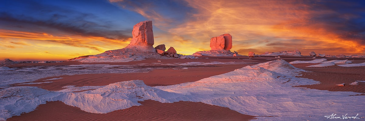 Sahara Landscape Photography, Ruined Throne, moonscape, Alexander Vershinin, Sahara desert, White Desert Egypt, photo