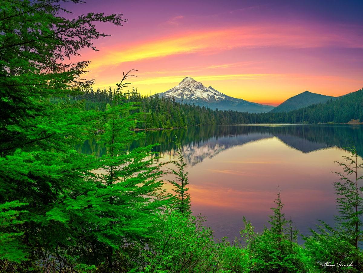 Oregon photography, mount hood, Alexander Vershinin, Limited edtion, Best Fine Art, The Great Awakening, photo