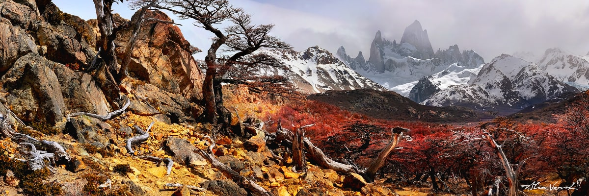 Patagonia Landscape Photography, The Monarch, Alexander Vershinin, Argentina, mount Fitz Roy, El Chalten, photo