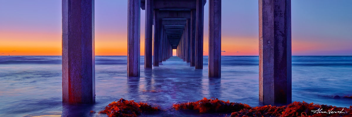 Limited edtion, Fine Art, The Path, California Photography, Alexander Vershinin, famous pier, la jolla pier, photo