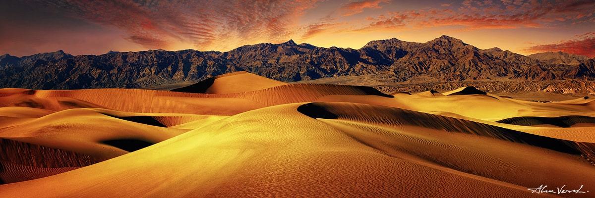 Limited edtion, Fine Art, California Photography, Alexander Vershinin, death valley, sand dunes photo