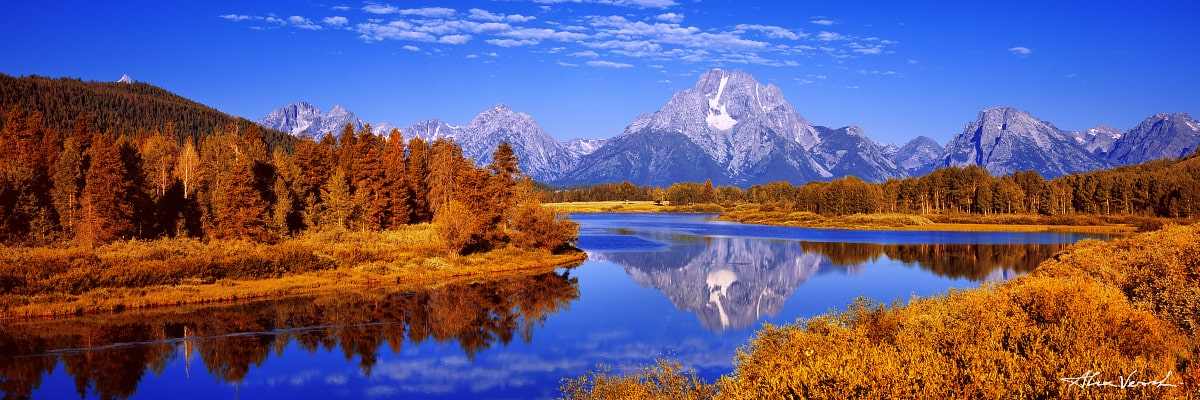 Wyoming acrylic photos, The Symbols, Alexander Vershinin, Grand Teton, Oxbow Bend, Wyoming Nature Photography, mountains photo